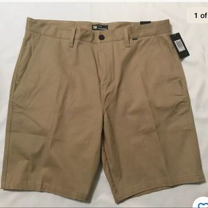NWT Mens Hurley One & Only Stretch Chino Shorts
